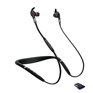 Jabra Evolve 75e MS Ecouteurs Sans Fil Avec Réduction de Bruit Active Noir