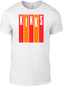 The KINKS T-shirt Logo Ray Davies vinyl cd small faces who mod target 1960s rW