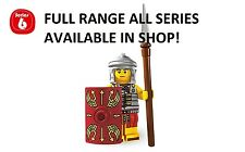 Lego minifigures roman soldier series 6 (8827) unopened new factory sealed