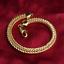 Fashion-18K-Gold-Plated-Fox-Tails-Chain-Bracelet-Bangle-Wristband-Jewelry-6MM thumbnail 2