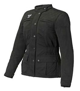 Triumph-Barbour-Ladies-Quilted-Waxed-Cotton-Motorcycle-Jacket-NEW-RRP-300