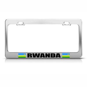 Tanzania Auto Car License Plate Frame Tag Holder 4 Hole