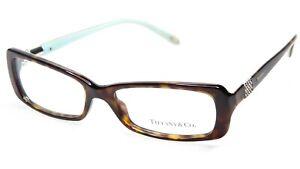 c04d9483520e NEW TIFFANY   Co. TF 2070-B 8015 HAVANA  BLUE EYEGLASSES 53-16-135 ...