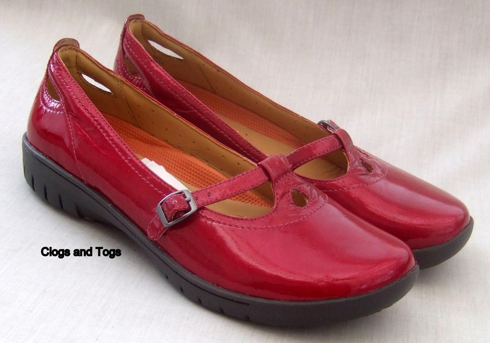 NEW CLARKS UNSTRUCTUROT RASPBERRY UN LOTTIE Damenschuhe RASPBERRY UNSTRUCTUROT PATENT Schuhe 603b99
