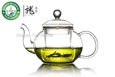 Clear Glass Teapot w/t Infuser 370ml 12.5 fl oz B-220