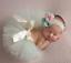 NEW-Beautiful-Baby-Tutu-amp-Matching-Flower-Headband-Photo-Props-20-Colours-UK thumbnail 21