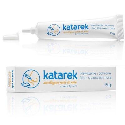 Affidabile Katarek Baby Unguento Rinologico Con Prebiotica 15g Per I Bambini Naso Na Katar-mostra Il Titolo Originale