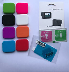 GoPro-Hero-5-6-7-Black-Lens-Silicon-Cover-Film-Foil-Screen-and-Lens-Protector