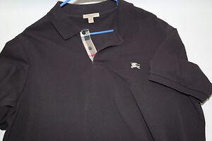 2e03a5563762 BURBERRY BRIT  Oxford  Short Sleeve Polo Shirt Size L retail  175   eBay