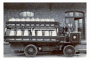 rp16989-Steam-Milk-Lorry-F-Nestle-Tutbury-Burton-on-Trent-photo-6x4