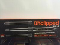 NEW! Paul Mitchell Express Ion Unclipped 3 in 1 Curling Iron!