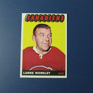 LORNE-GUMP-WORSLEY-1965-66-Topps-2-Montreal-Canadiens-1965-1966-65-66
