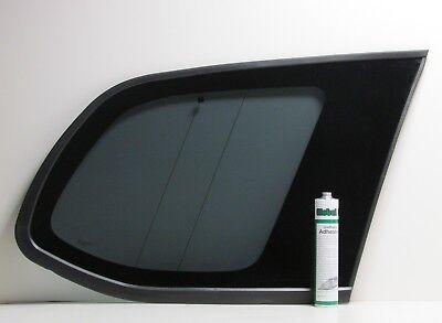 NISSAN NOTE PASSENGER SIDE REAR QUARTER GLASS 2006-2012