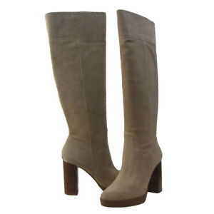 866d52f005c Michael Kors Womens Regina Platform Inside Zip Casual Knee High Tall ...