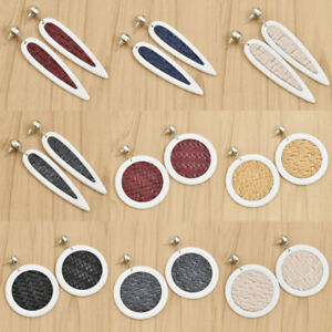 Fashion-Women-Resin-Fun-Geometric-Dangle-Drop-Statement-Earrings-Jewelry-Gift