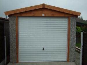 INFORMATION ON CONCRETE SECTIONAL GARAGES PENTS, APEX'S AND LEAN TO GARAGES