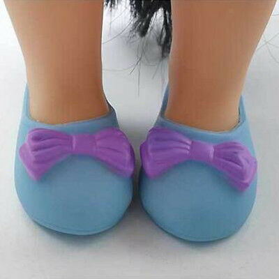 Cute Shoes with Bow-knot for 16 inch Salon Doll Clothing Dress Up Accessory