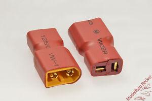 Adapterstecker-XT60-Stecker-T-Buchse