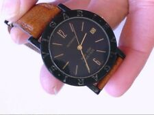 Bvlgari Carbon Gold New York Limited Edition Auto UNI Wristwatch. WORKS.Orig box