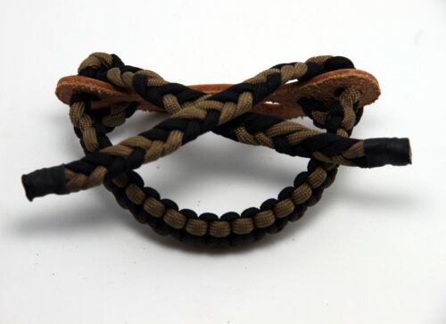 Archery Bow Wrist Copper Ring Sling 550 Paracord High Quality Strap Hunting