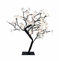 Simple Designs Nl2008-blk Led Lighted Decorative Cherry Tree Bl... Free Shipping