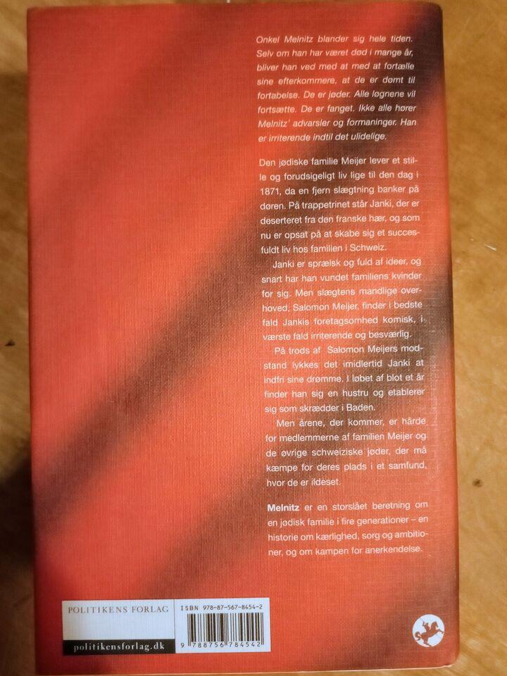 Melnitz, Charles Lewinsky, genre: roman