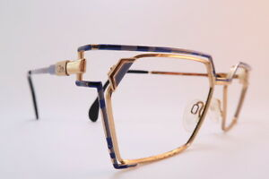Eyeglasses Frame Made In Germany : Vintage 80s Cazal eyeglasses frames purple blue size 54-15 ...