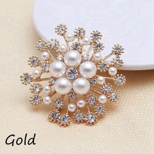 hochzeitskleid zubehör blume broschen pins pearl crystal strass schmuck