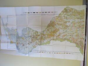 Map Florida Pensacola.1906 Antique Map Escambia County Florida Pensacola Warrington 30 X