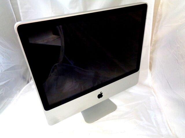 "Apple iMac 20"" 2008 A1224 MB323LL/A C2D 2.4GHz 4GB RAM 250GB HD MacOS 10.11.6"
