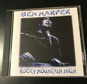 Details about Ben Harper Rocky Mountain High Bootleg Soundboard Live  Concert CD Aspen Colorado