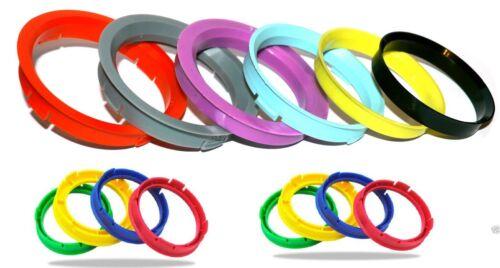 esterno 66.1 anelli interni Spine DISTANZIALE RUOTE x 4 per NISSAN GTR TUTTI I MODELLI 73.1