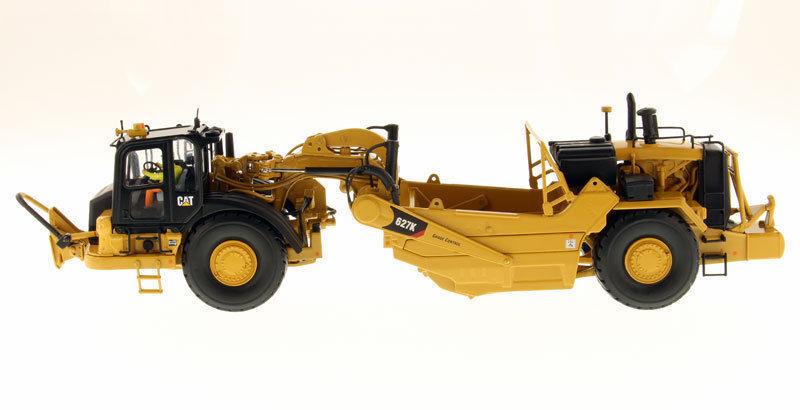 Caterpillar 85921 Diecast 1 50 DM Cat 627K Wheel Grattoir tracteur véhicules Alliage