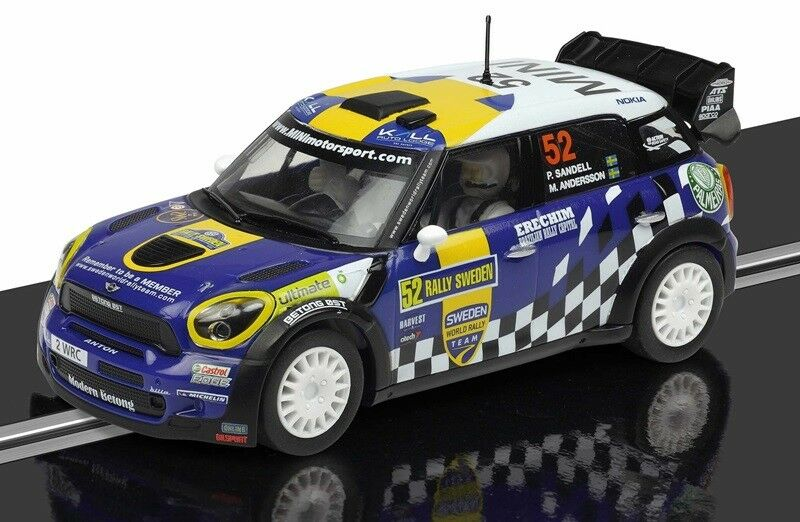 SCALEXTRIC C3401 MINI COUNTRYMAN WRC