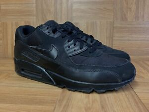 Creative Nike Air Max 90 Essential Triple Black 537384 090 Men's Sport Running Shoes Sneakers