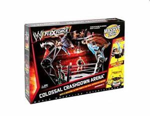Wwe Flexforce Colossal Crashdown Arena Bague de lutte massive Ensemble de jeu nouveau 27084954210