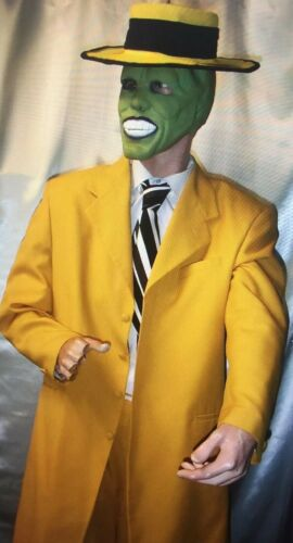 Jim Carrey THE MASK Suit, Original 1994 Latex Mask