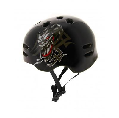 /Noir Venom Pro Casque de Skateboard Utilisation avec Skateboard//BMX//Scooter//Roller Skating/