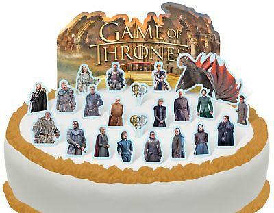21 pieces Cakeshop PRE-CUT Despicable Me Minions Edible Cake Scene