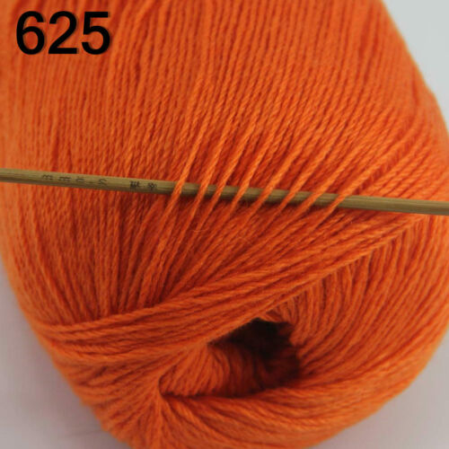 Nouvelle Promotion luxueux doux 50 g mongol Pure cashmere main tricot Fil de Laine