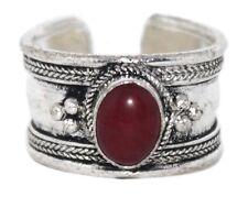 Quartz ring healing ring Silver ring Nepal ring Tibetan ring Boho Ring