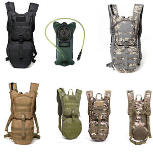 88784c07e0 Image is loading 3L-Hydration-Backpack-Bag-Military-Hiking-Camping-Back-
