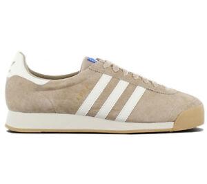 8527a478e9d058 Das Bild wird geladen adidas-Originals-Samoa-Vintage-VNTG-Sneaker-Leder- Schuhe-
