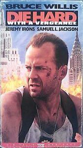 Die Hard 3 With A Vengeance Vhs 1995 Bruce Willis Samuel Jackson 131m R 86162885839 Ebay