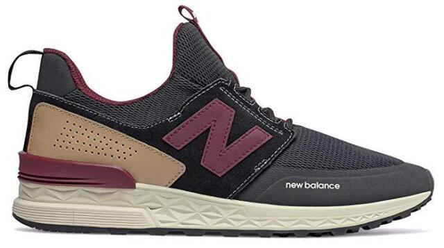promo code 9de71 de672 New Balance Men's MS574DTY Sport Lifestyle Shoe Black/Purple/White Classic  574