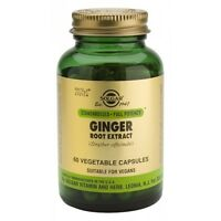Ginger Cap Standardized Solgar 60 Capsules