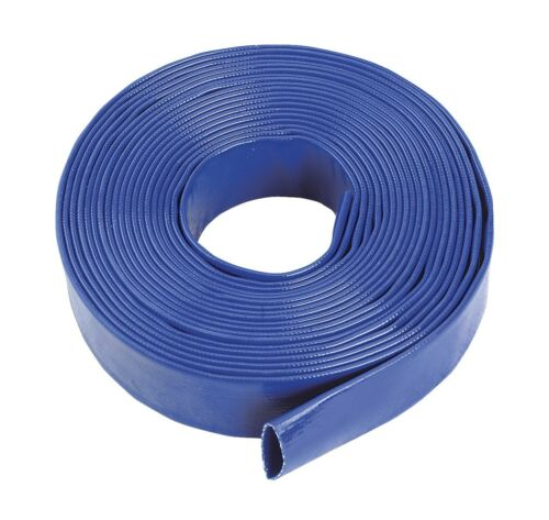 IRRIGATION BLUE PVC LAYFLAT HOSE-WATER DISCHARGE PUMP LAY FLAT DELIVERY PIPE