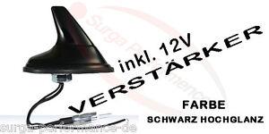 Shark-Hai-Antenne-inkl-Verstaerker-fuer-VAUXHALL-OPEL-COMBO-MOVANO-VIVARO-NEU-OVP