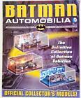 BATMAN Automobilia Magazine TIMELINE Insert TV & Movie Batmobile Batbike Batboat