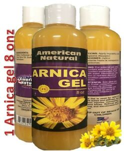 ARNICA-MONTANA-GEL-8-Oz-PAIN-RELIEF-BRUISES-MUSCLE-ACHES-CREAM-NATURAL-REMEDIES